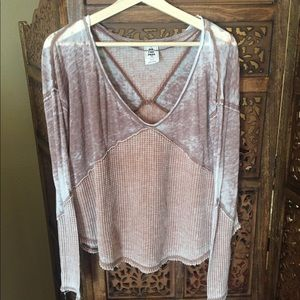Like New FREE PEOPLE Thermal Brown XS